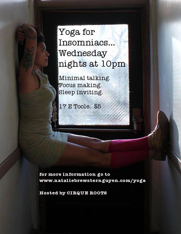 yoga for insomniacs